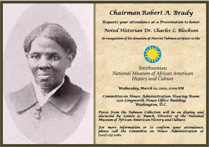 Honoring the life, heroism, and service of Harriet Tubman.
